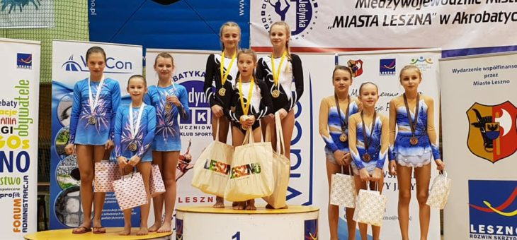 Międzywojewódzkie Mistrzostwa Miasta Leszna w Akrobatyce Sportowej
