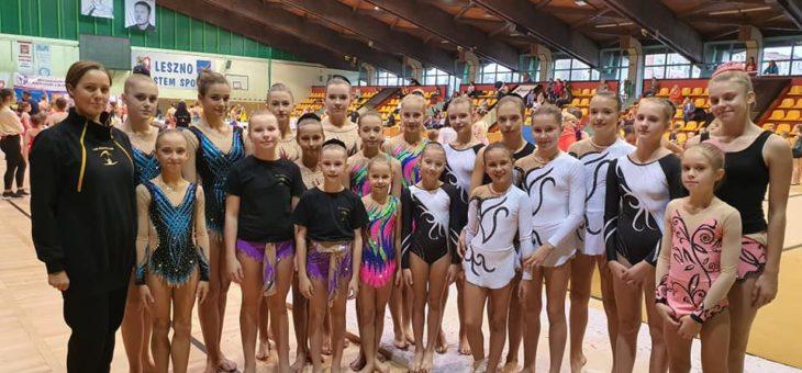 """Międzywojewódzkie Mistrzostwa """"MIASTA LESZNA"""" w Akrobatyce Sportowej"""