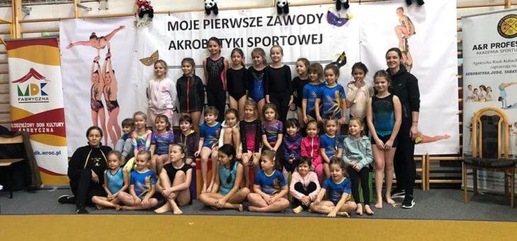 Moje pierwsze i karnawałowe zawody akrobatyki sportowej. Relacja z edycji w 2020 r.