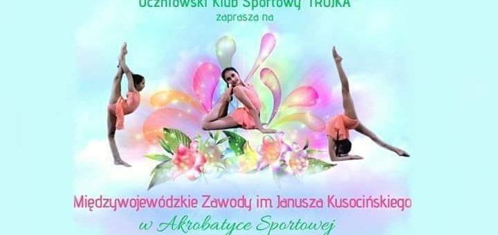 Międzywojewódzkie zawody im J. Kusocińskiego w Akrobatyce sportowej w najbliższy weekend!