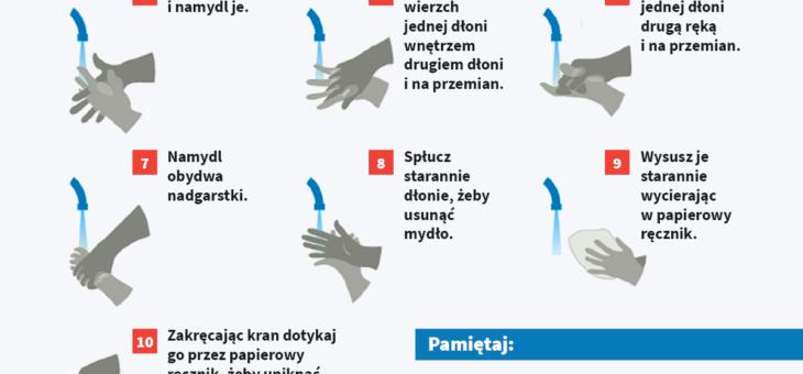 Jak skutecznie myć ręce?