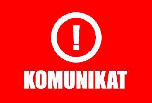 [KOMUNIKAT] Zawieszenie naszej działalności w dniach od 27 marca do 14 kwietnia #KORONAWIRUS