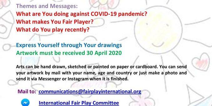 Konkurs Sztuki Fair Play dla dzieci i młodzieży #konkurs #IFPC