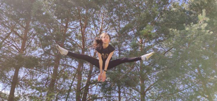 Zdalny trening naszych akrobatów! AGATA #zdrowie #sport #ćwiczenia