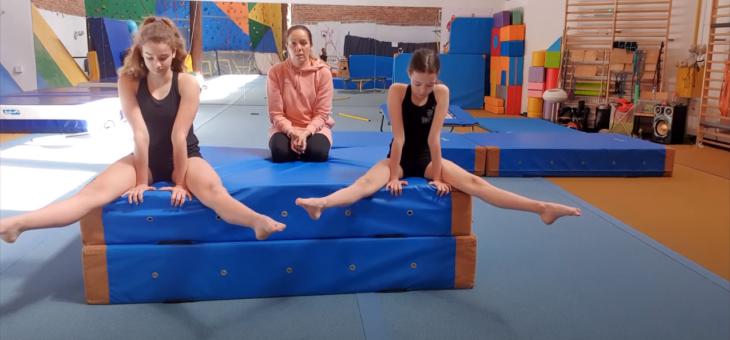 Lekcja akrobatyki – poziomka część #1 #akrobatyka