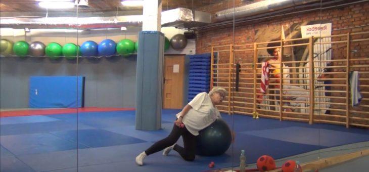 Gimnastyka dla seniorów z Panią Basią #2 #TABATA #ZDROWIE [ZAJĘCIA ONLINE]