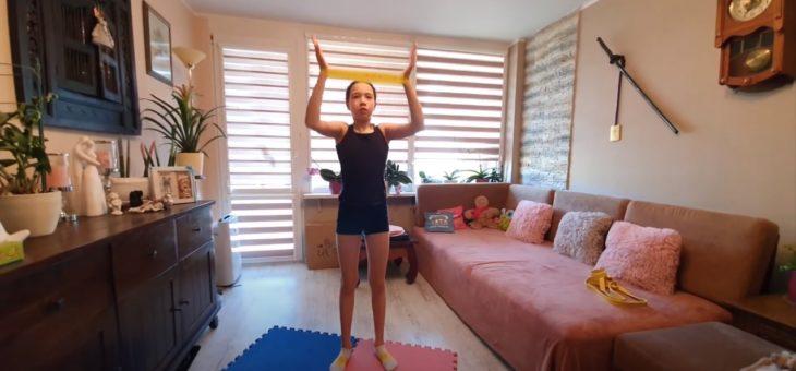 Poranne ćwiczenia z Kają #10 #zdrowie #sport #ćwiczenia