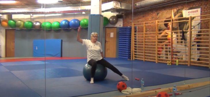 Gimnastyka dla seniorów z Panią Basią #4 #TABATA #ZDROWIE [ZAJĘCIA ONLINE]