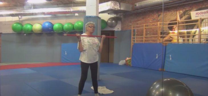 Gimnastyka dla seniorów z Panią Basią #6 #TABATA #ZDROWIE [ZAJĘCIA ONLINE]