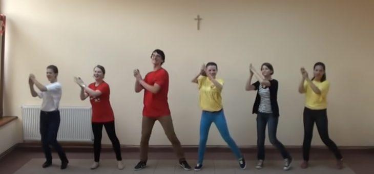 Wspólny taniec #przedszkolaki #ćwiczenia