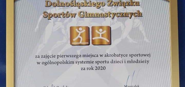 Gala sportu młodzieżowego #zdolnyslask #akrobatyka #altius