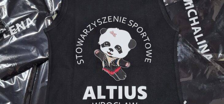 Nowe koszulki klubowe ! #akrobatyka #altius