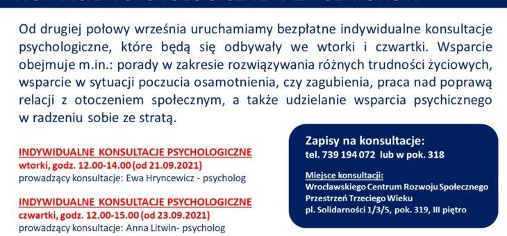Wsparcie psychologiczne dla seniorów #senior #wsparcie #wrocław
